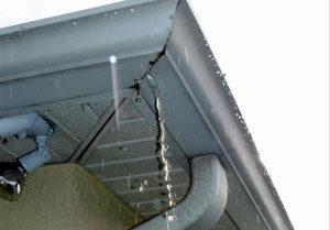 How To Repair A Corner Gutter Seam Leak A Amp B Gutters